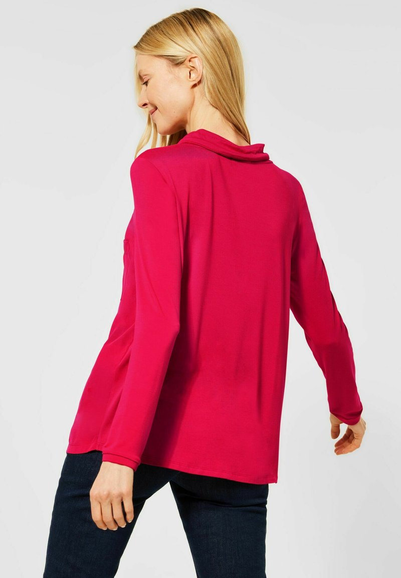 Cecil - MIT CUPRO-MIX - Blouse - rot