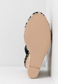 Steve Madden - MAURISA - Sandály na vysokém podpatku - black - 6