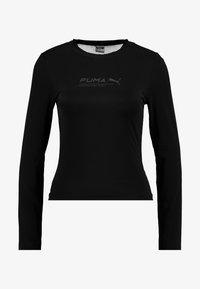 Puma - EVIDE LONGSLEEVE - Maglietta a manica lunga - black - 3