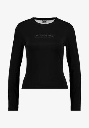 EVIDE LONGSLEEVE - Maglietta a manica lunga - black