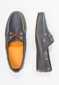 Timberland - CLASSIC - Boat shoes - blue - 5