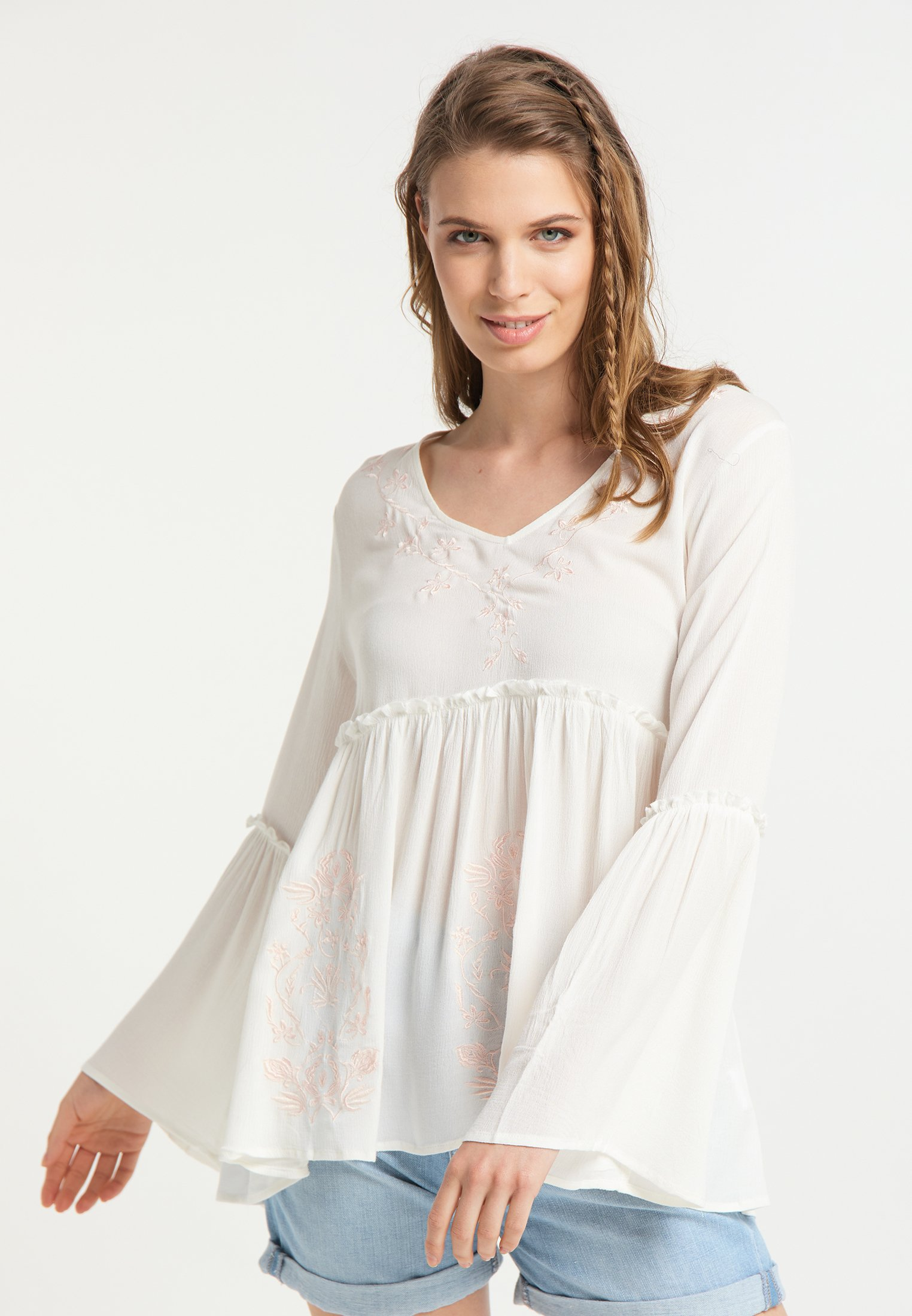usha Blouse - wollweiss - Tops & T-shirts Femme fRLe8