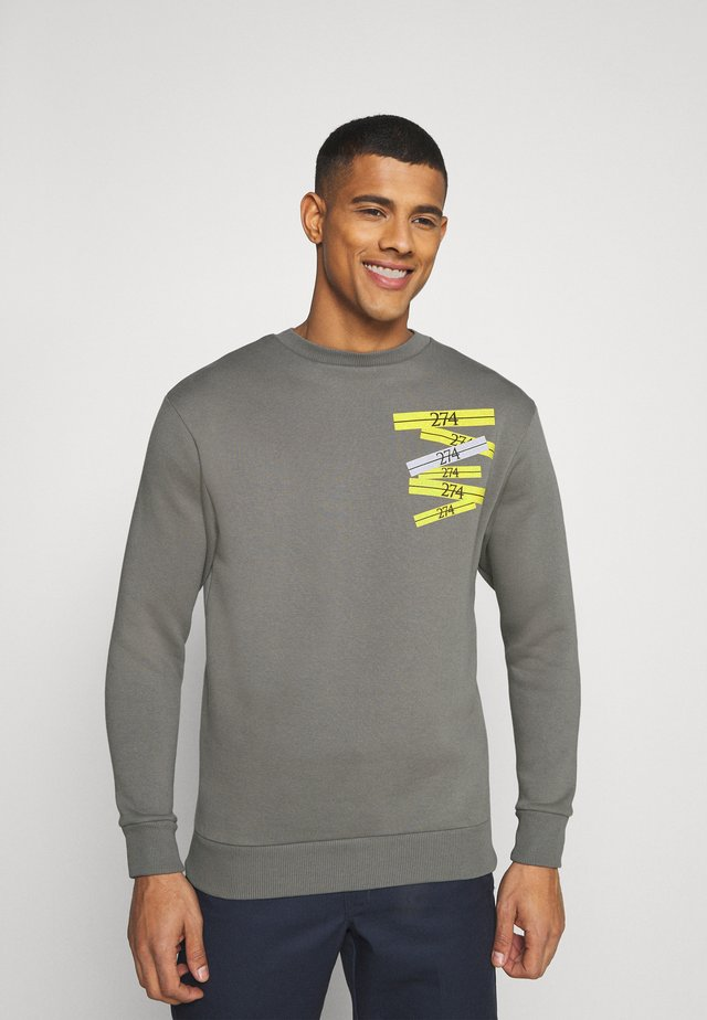 STACK CREW - Sweater - grey