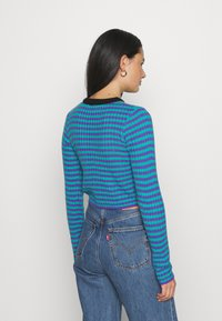 The Ragged Priest - STRIPE LONG SLEEVE - Maglione - blue/lilac - 2