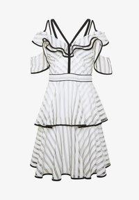 U Collection by Forever Unique - Suknia balowa - white/black - 3