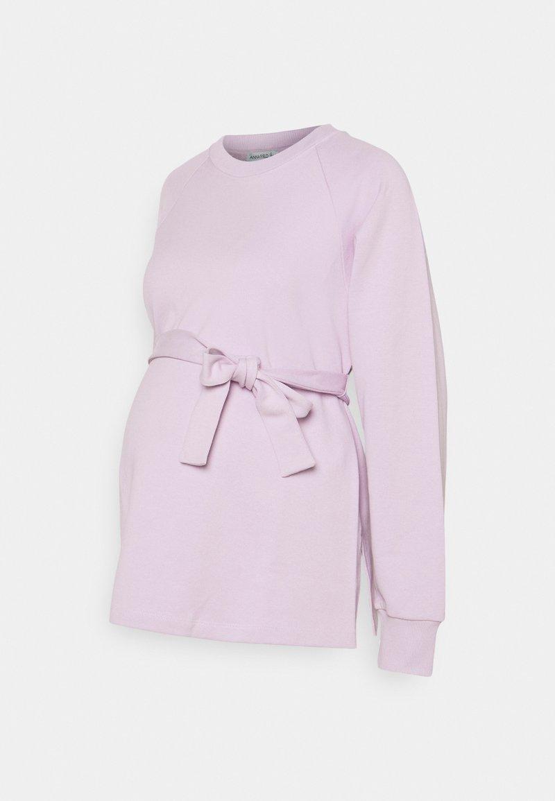 Anna Field MAMA - Sweater - lilac
