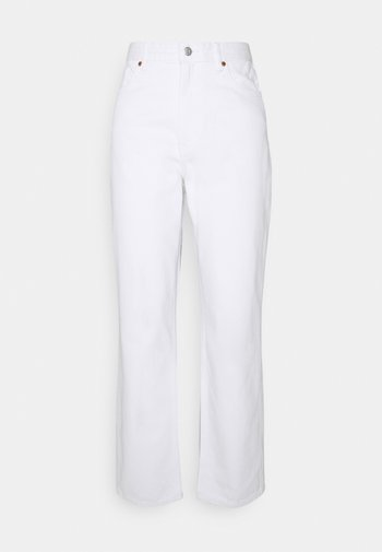 Relaxed fit jeans - white light
