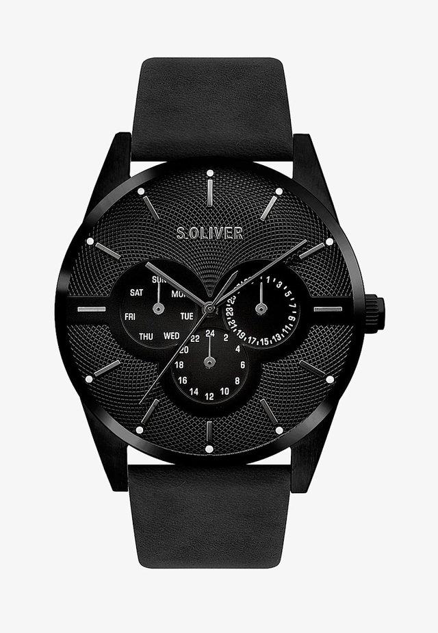 HERREN - Watch - black