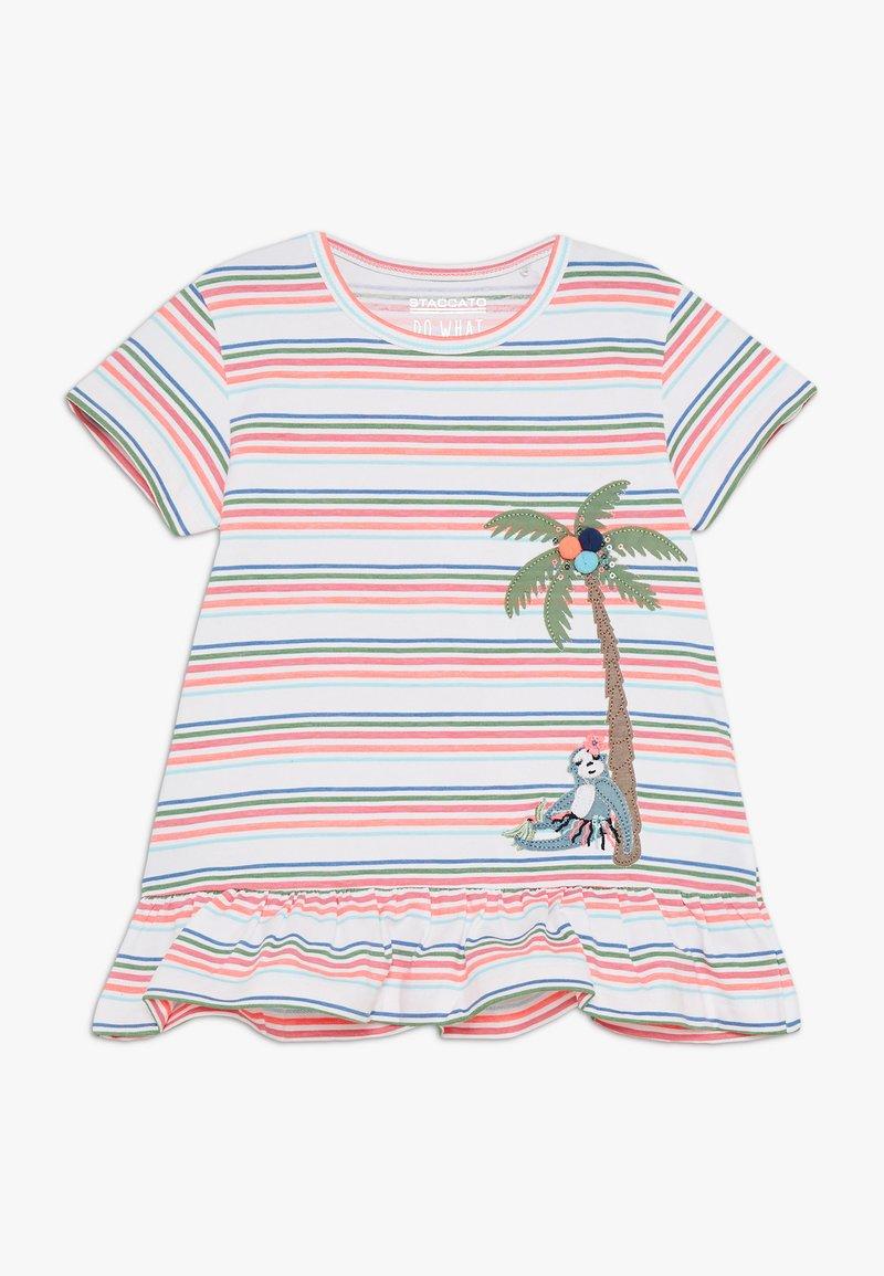 Staccato - STREIFEN KID - T-shirt med print - soft white