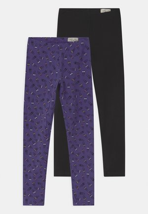 PIRATE 2 PACK - Leggings - Trousers - black