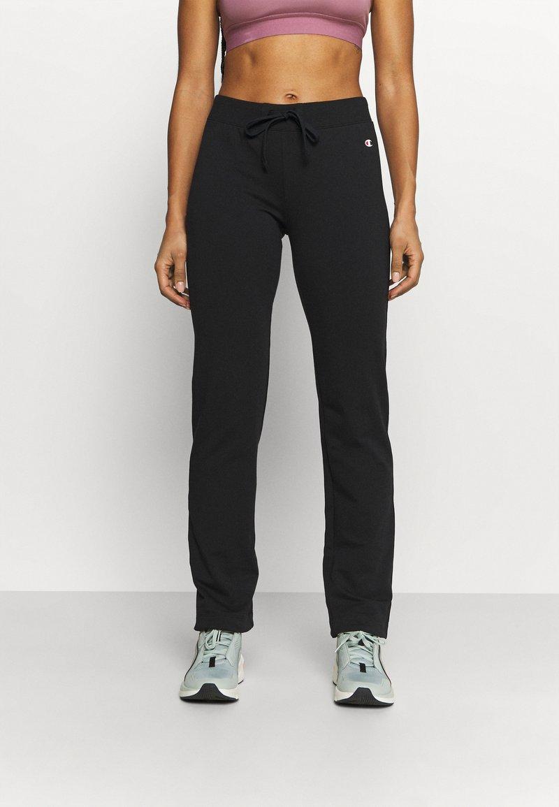 Champion - DRAWSTRING PANTS - Pantalones deportivos - black