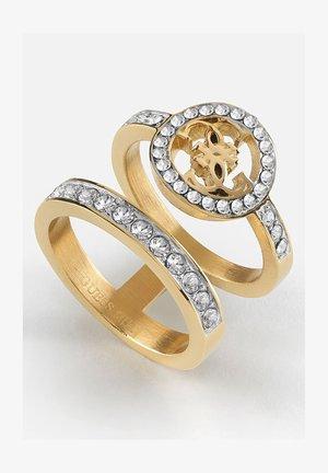 BLOOMING PEONY - Ring - goldenfarbe