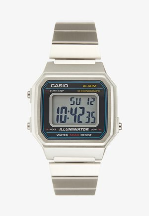 Digital watch - silver-coloured/black