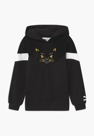 ANIMALS HOODIE - Bluza z kapturem - black