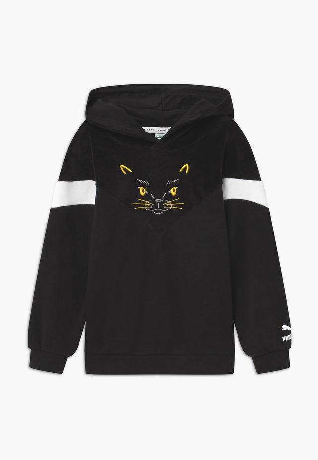 ANIMALS HOODIE - Sweat à capuche - black