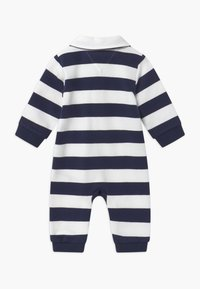 Tommy Hilfiger - BABY RUGBY STRIPE COVERALL - Combinaison - blue - 1