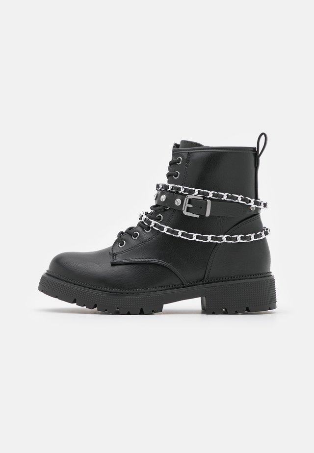 JMAJOR - Lace-up ankle boots - black