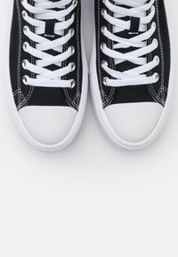 Converse - CHUCK TAYLOR ALL STAR MOVE - High-top trainers - black/natural ivory/white - 3