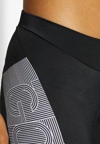 Gore Wear - DAMEN LINE KURZ - Tights - black/white - 4