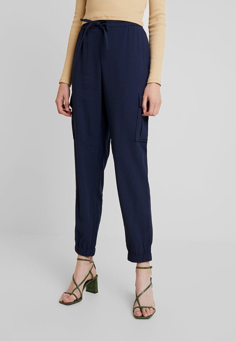 Vila - Pantalones - navy blazer