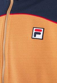 Fila - HAVERD TRACK JACKET - Sportovní bunda - black iris/hazel - 2