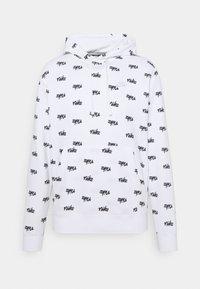 Nike Sportswear - CLUB HOODIE SCRIPT - Hættetrøjer - white - 5