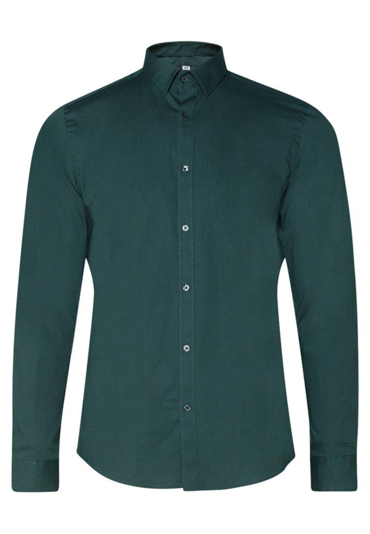 We Fashion Herren-slim-fit-hemd Mit Stretchanteil - Hemd Army Green