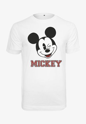 MICKEY COLLEGE  - T-shirt con stampa - white