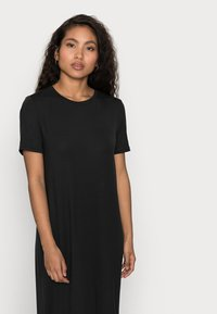 Vero Moda Petite - VMGAVA DRESS PETITE - Jerseykjole - black - 3