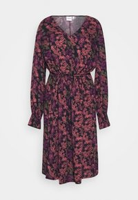 JUNAROSE - by VERO MODA - JRHALDIS BELOW KNEE DRESS  - Day dress - navy blazer - 4