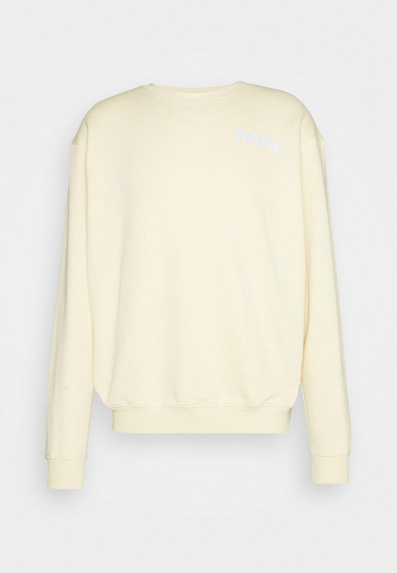 Mennace - BREEZE REGULAR UNISEX - Sweatshirt - dusty yellow