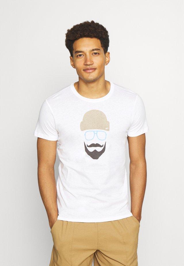ALEDO - T-Shirt print - white