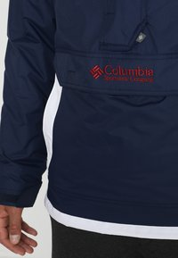 Columbia - CHALLENGER - Windbreaker - collegiate navy/white - 4