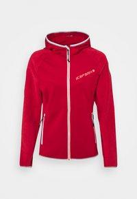 Icepeak - DAHLEN - Fleece jacket - burgundy - 0