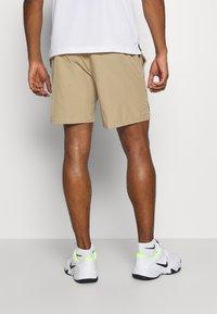 Nike Performance - Sports shorts - parachute beige/black - 2