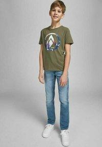Jack & Jones Junior - GLENN ORIGINAL GE - Jeans slim fit - blue denim - 3