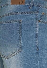 Urban Threads - Shorts - blue denim - 6