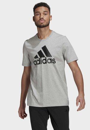 ESSENTIALS BIG LOGO T-SHIRT - Print T-shirt - grey