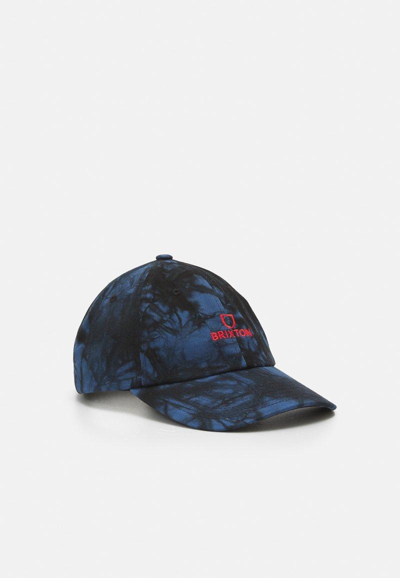 Brixton - ALPHA UNISEX - Cap - royal/black