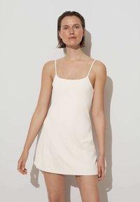 OYSHO - Robe d'été - off white - 0