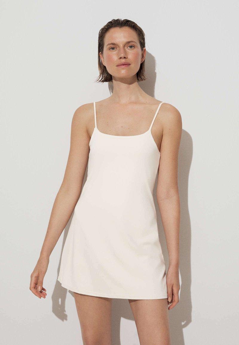 OYSHO - Robe d'été - off white