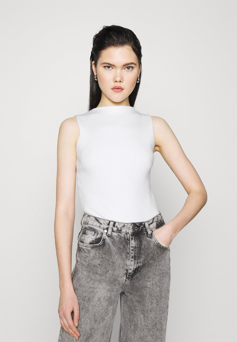 4th & Reckless - COVILLE BODYSUIT - Top - white