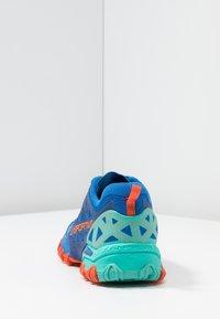 La Sportiva - BUSHIDO II WOMAN - Trail running shoes - marine blue/aqua - 3