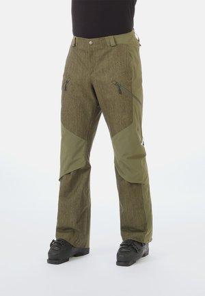 Pantaloni da neve - green/dark green