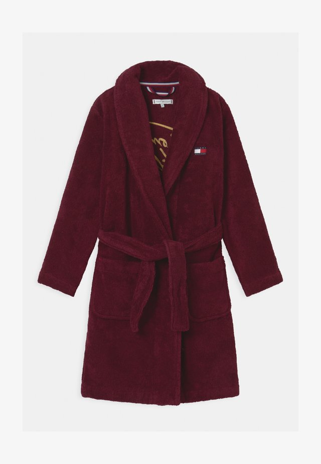 TOWELLING ROBE SIGNATURE UNISEX - Peignoir - purple