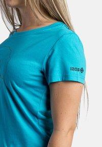 IZAS - T-shirt imprimé - turquoise - 4