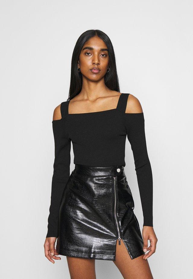 LIV - Maglietta a manica lunga - black