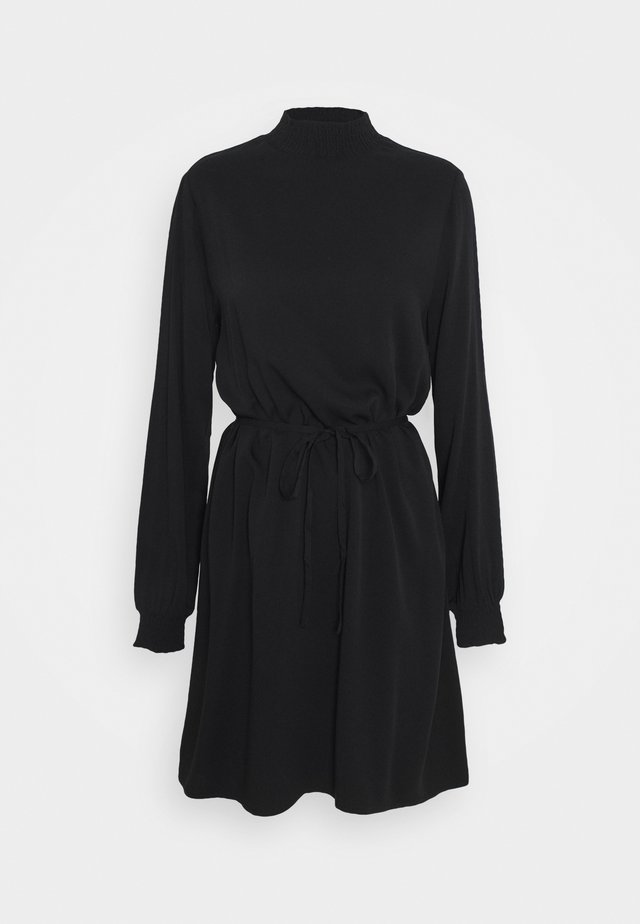 VIDANIA SMOCK DRESS - Korte jurk - black