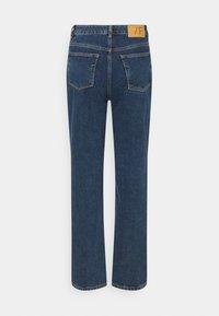 Selected Femme - SLFKATE HARBOUR - Straight leg -farkut - medium blue denim - 1