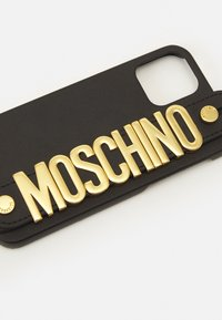 MOSCHINO - I-PHONE 12/12 PRO UNISEX - Phone case - black - 3